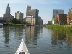 Providence from the water