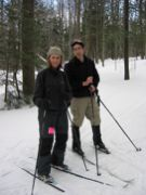 Trip Co-leader Jen and Me