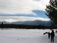 Mount Washington, Monroe, Franklin, and Eisenhower, from Bretton Woods, NH