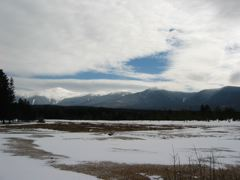 Mount Washington, Monroe, Franklin, Eisenhower, and Pierce, from Bretton Woods, NH
