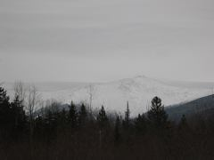 Mount Washington, from the yurt at Bretton Woods, NH