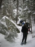 Snowshoeing the Webster-Jackson Trail, NH