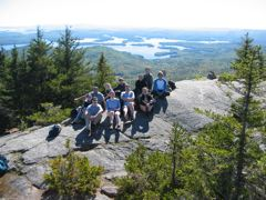 Group on Mt. Percival
