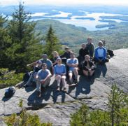 Group on Mt. Percival (Crop)