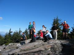Group at North Pack Monadnock Summit