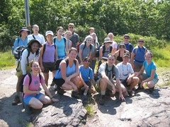 Blue Hills hikers